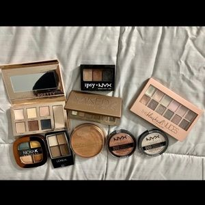 Tarte Naked Bare Minerals eyeshadow make up lot